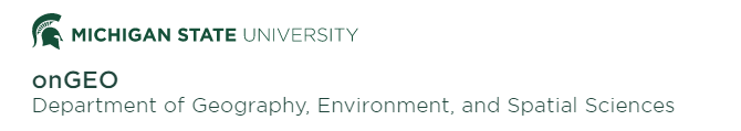 GIS Certificate (Michigan State University)