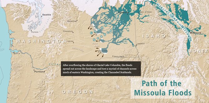 Washington's Ice Age Floods Map