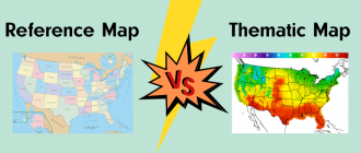 Reference Map vs. Thematic Map